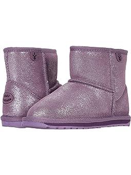 Girls EMU Australia Kids Purple Boots +