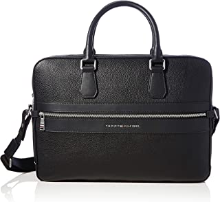 Tommy Hilfiger TH MODERN WORK BAG Homme Noir, Taille Unique