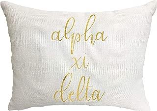 Alpha Xi Delta Sorority Throw Pillow