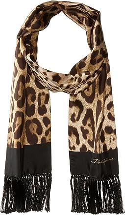 Dolce & Gabbana Leopard Scarf
