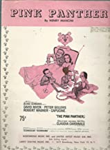 Pink Panther, By Henry Mancini ~ (For Voice & Piano) From the Technicolor Technirama Theme Song From the Picture
