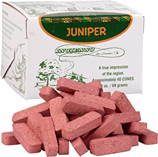Juniper Wood Incense - 40 Bricks - Incienso De Santa Fe