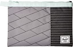 Light Grey Crosshatch/Black/Glacier