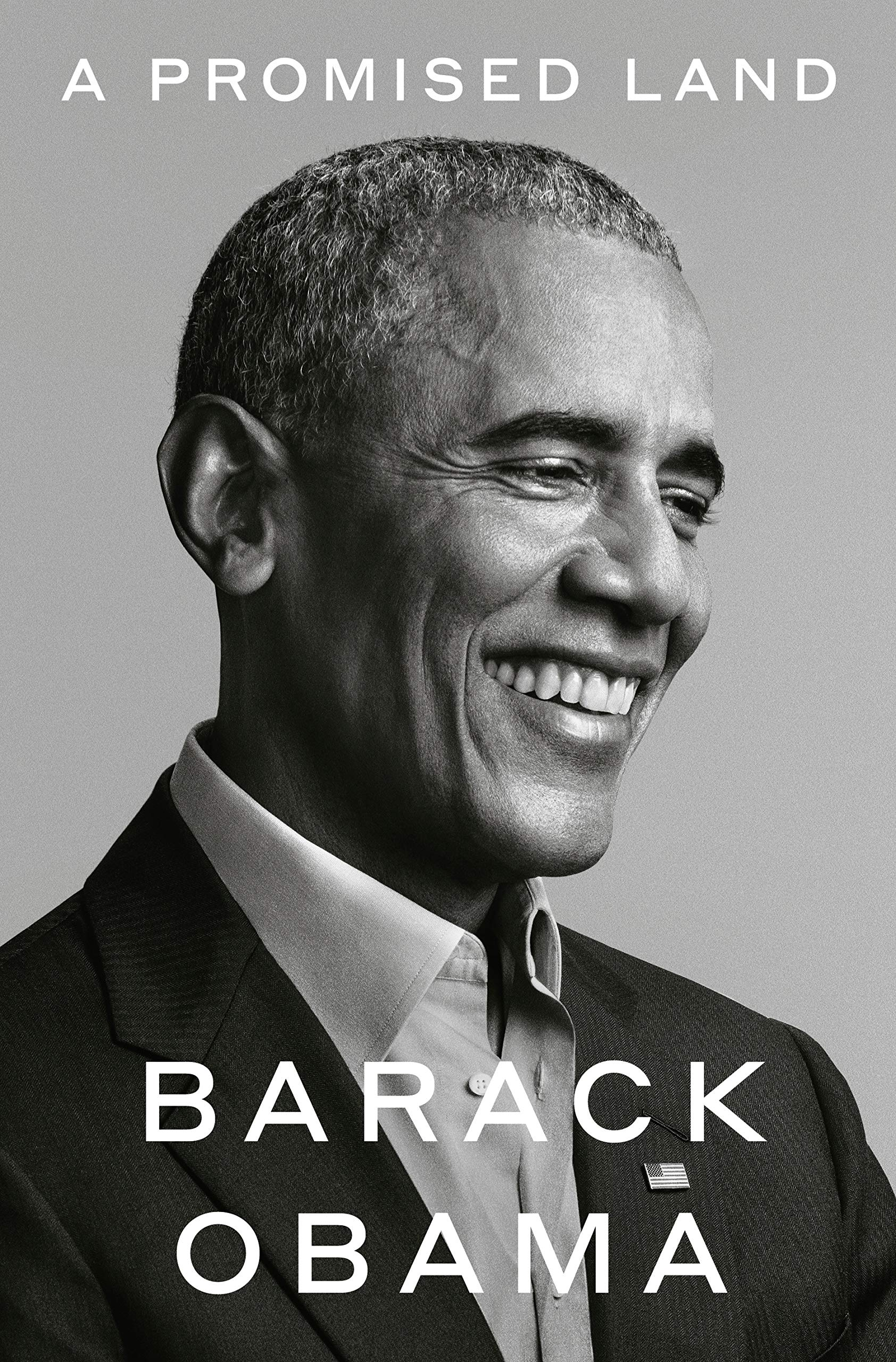 Cover image of A Promised Land by Barack Obama