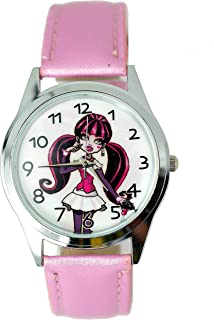 W2 Monster High Girl Fashion Watch + Spare Battery + Gift Bag