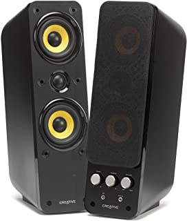 Creative Labs GigaWorks T40 Series II - Altavoces (PC, 32 W, 50-20000 Hz), Negro