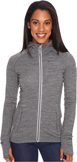 Quantum Mid-Weight Merino Long Sleeve Zip Hood