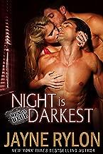 Night is Darkest: An MMF Bisexual Romance (Men in Blue Book 1)