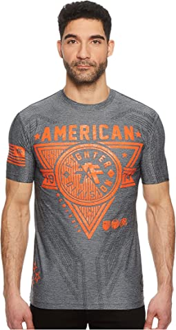 American Fighter - Siena Heights Short Sleeve Mesh Tee