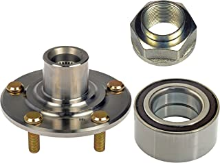 DTA D930455510073 Front Wheel Hub Wheel Bearing Kit Left or Right Fits Acura TL, TSX, Honda Accord V6 or Manual Trans, Civic Si Model Replaces Dorman 930-455, 510073