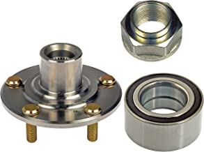 DTA D930450+NT510050 Front Wheel Hub Wheel Bearing Kit Left or Right Fits Acura TL CL RSX Type S Honda V6 Accord Element DX LX Only With Nut