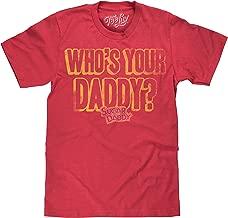 Tee Luv Sugar Daddy T-Shirt - Sugar Daddy Who's Your Daddy Candy Shirt