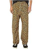 MARNI - Relax Fit Leopard Contrast Cuff Pants