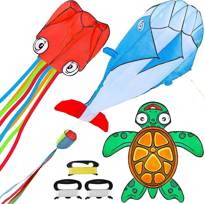 JOYIN 3 Packs Ocean Kite Octopus price Set 5 ☆ very popular Dolphin Includes