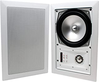 SpeakerCraft MT6 Three 6'' 125 W MT SERIES IN-WALL SPEAKERS (PAIR) (ASM87630)