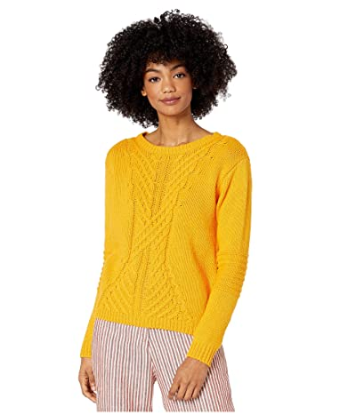 Roxy Glimpse Of Romance Crew Neck Sweater (Golden Glow) Women