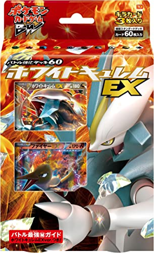 descuento de ventas Pokemon Pokemon Pokemon Card Game BW Battle Deck 60 blanco Kyurem EX (japan import)  artículos novedosos