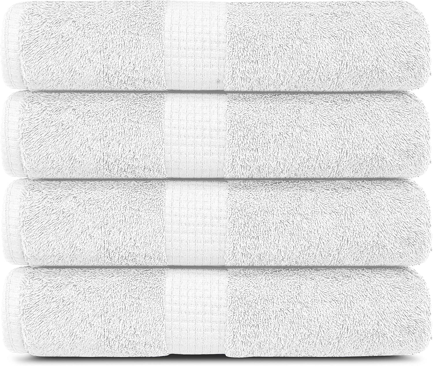 Lavish Touch 100% Cotton 600 GSM Melrose Towels Regular Ranking TOP13 discount W 4 of Bath Pack