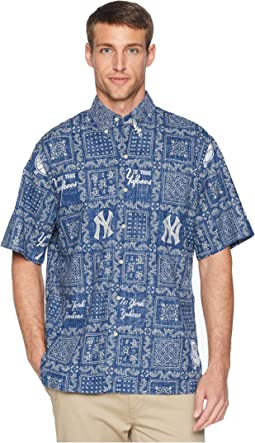 New York Yankees Original Lahaina Classic Fit Hawaiian Shirt