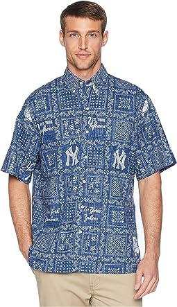 New York Yankees Original Lahaina Classic Fit Hawaiian Shirt