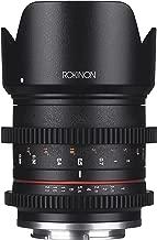 Rokinon CV21M-E 21mm T1.5 Compact High Speed Wide Angle Cine Lens for Sony E-Mount, Black