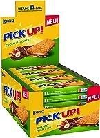 PiCK UP! Choco Hazelnut - Keksriegel - 24 Einzelpackungen im Thekenaufsteller - 2 Butterkekse mit knackiger...