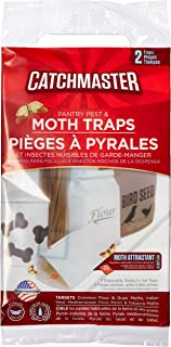 Catchmaster APG-812SD-6PK Pantry Pest Moth Traps, 12 Total Traps