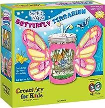 Creativity For Kids Sparkle N' Grow Butterfly Terrarium - Steam Crafts For Kids