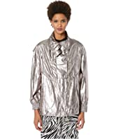 Jason Wu - Metallic Foil Drawstring Jacket