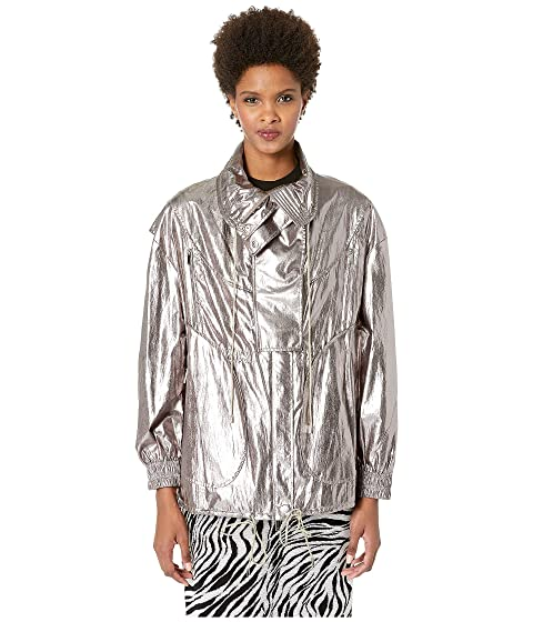 GREY Jason Wu Metallic Foil Drawstring Jacket
