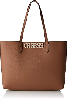 Guess Uptown Chic Womens Tote Tan
