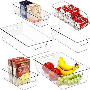 Simple Houseware 6 Pack Freezer Storage Organizer