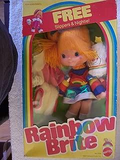 Vintage Mattel 1983 Rainbow Brite and Twink Sprite Plush Doll