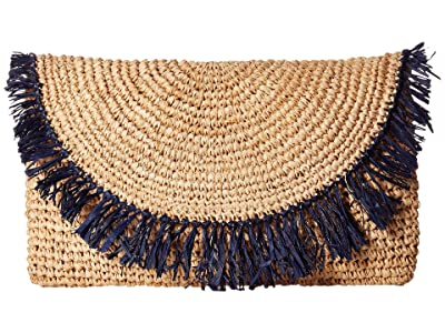Hat Attack Sunburst Clutch (Navy) Clutch Handbags