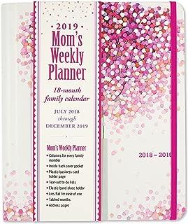 2019 Lollipop Tree Mom's Weekly Planner (18-Month Family Calendar)