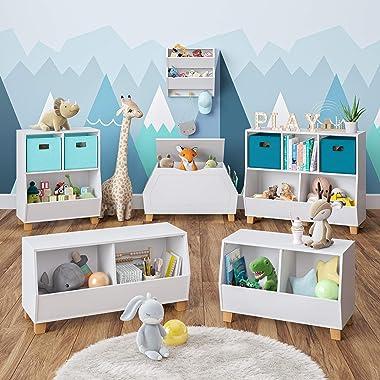 RiverRidge Kids Catch, White Toy Box