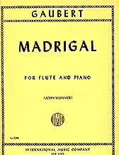 Gaubert: Madrigal - Flute