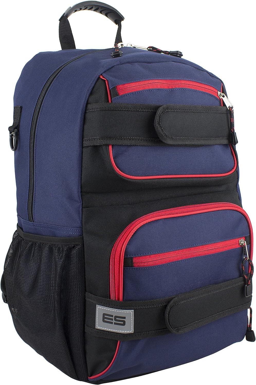 Eastsport Double Strap Skater Backpack Multipurpose Popular brand in the world Recommendation Black Deep