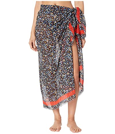 Stella McCartney Pebble Print Sarong (Black) Women