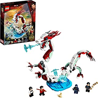 LEGO® Marvel Shang-Chi Battle at the Ancient Village 76177 Collectible Dragon and Superhero LEGO Minifigures Playset Featu...