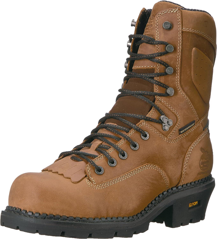 Georgia Men's GB00097 Boot Mid Direct sale of Super sale period limited manufacturer Calf