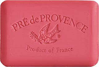 Pre de Provence Artisanal French Soap Bar Enriched with Shea Butter, Cashmere Woods, 250 Gram