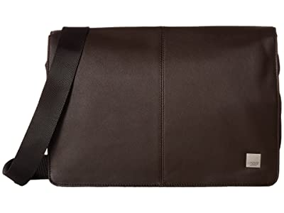 KNOMO London Brompton Classic Kinsale Messenger (Brown) Messenger Bags