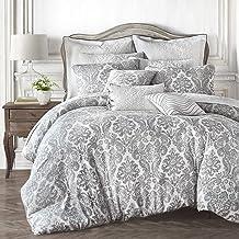 Croscill Saffira King Comforter, White