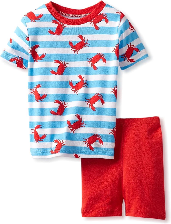 New Jammies Boys Organic Cotton Pajama Short Set