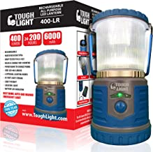 Tough Light LED Rechargeable Lantern - 200 Hours of Light from a Single Charge, Longest Lasting on Amazon! Camping and Eme...