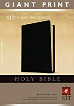 Download Holy Bible, Giant Print NLT (Red Letter, Imitation Leather, Black) PDF