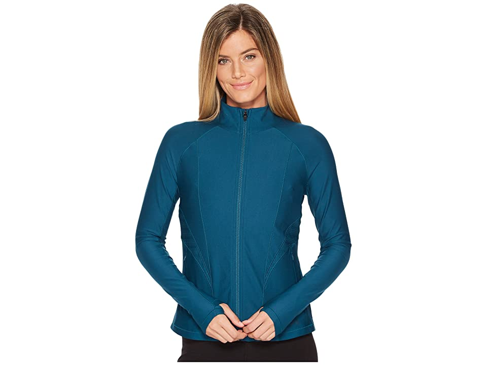 Under Armour Vanish Disrupt Mesh Full-Zip Training Jacket (Tourmaline Teal/Tourmaline Teal/Metallic Iron) Women