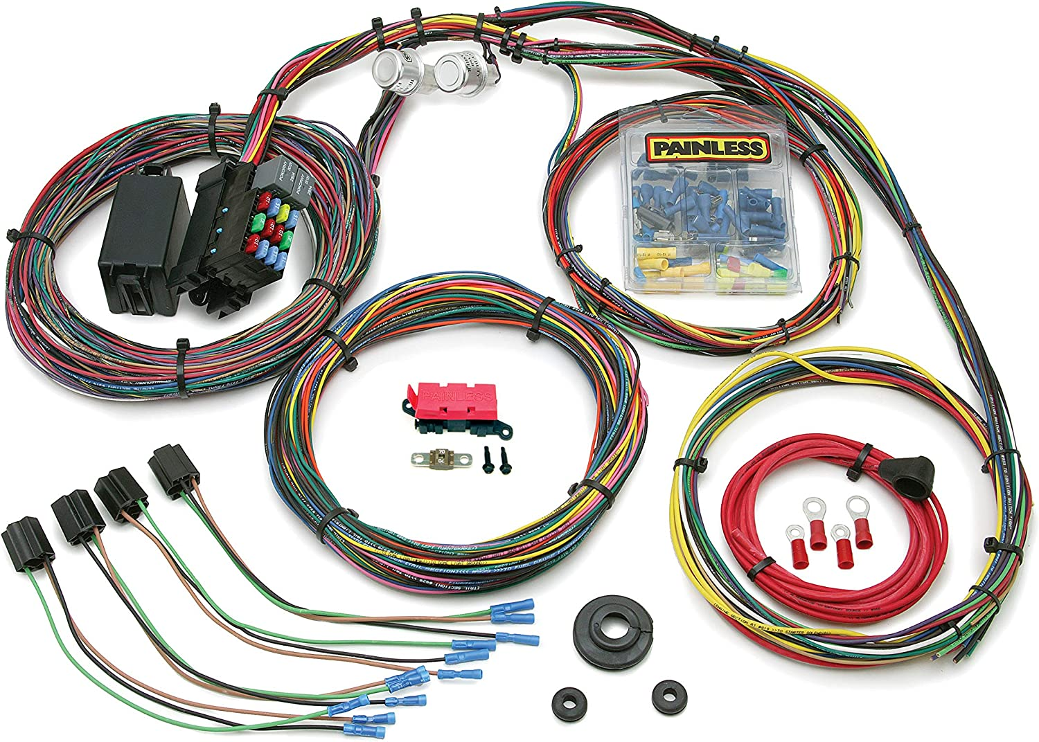Painless Be super Max 66% OFF welcome Performance 10127 Customizable Mopar C Chassis Harness