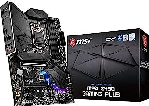 MSI MPG Z490 Gaming Plus Gaming Motherboard (ATX, 10th Gen Intel Core, LGA 1200 Socket, DDR4, CF, Dual M.2 Slots, USB 3.2 ...
